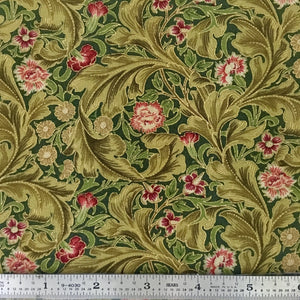 Morris Holiday Metallic - Acanthus - Pine