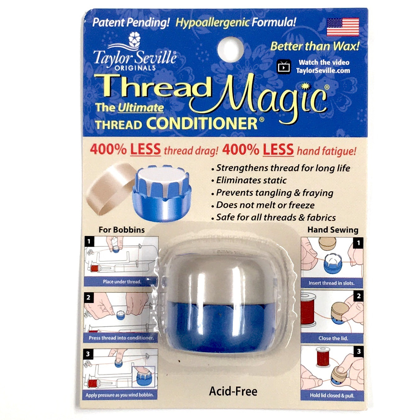 Thread Magic Round