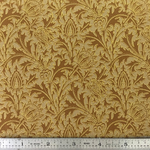 "Morris Holiday Metallic - 108"" Backing - Gold"