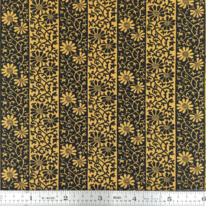 May Morris Studio - Stripe - Ebony