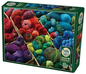 Plenty of Yarn 1000 Piece Puzzle