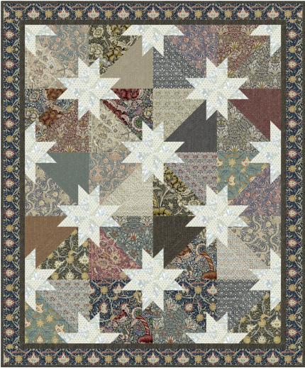 Southern Stars - Quilt Top Kit