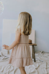 Hazel Dress - Rose Dust