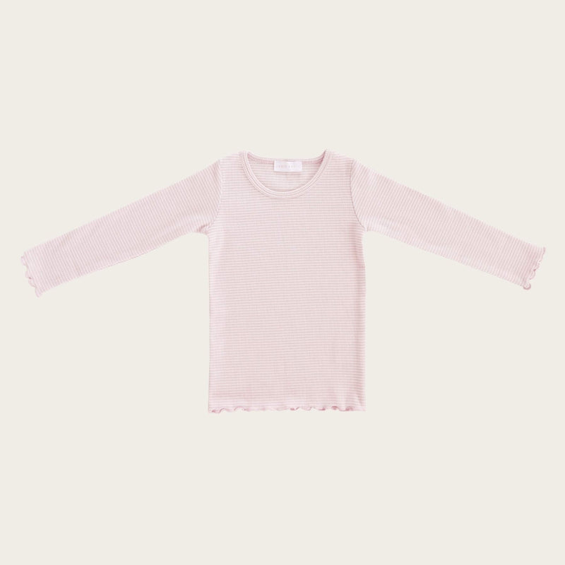 Maddison Top - Lilac Stripe