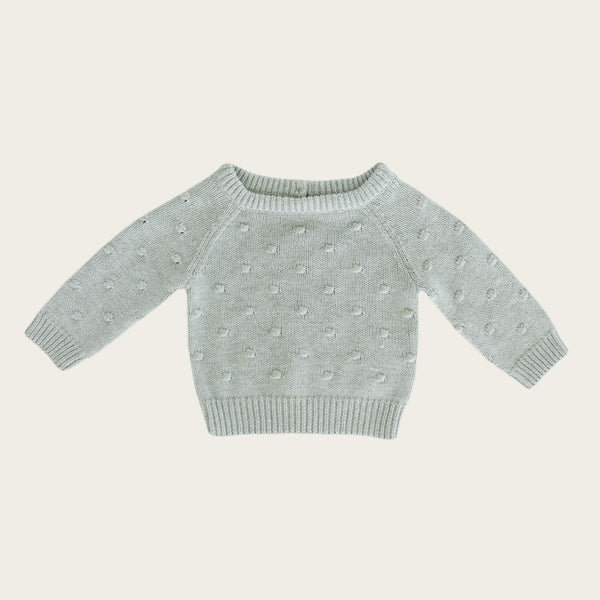 Dotty Knit - Seabreeze