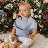 Snuggle Bib Waterproof - Sky