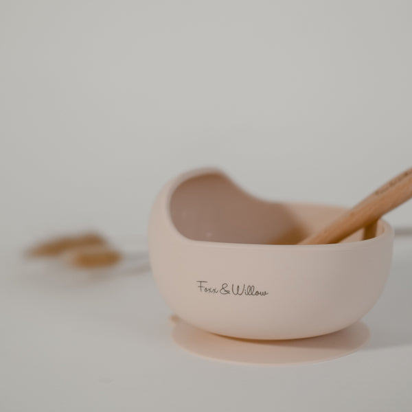 Your Bowl & Spoon - Peachy Blush