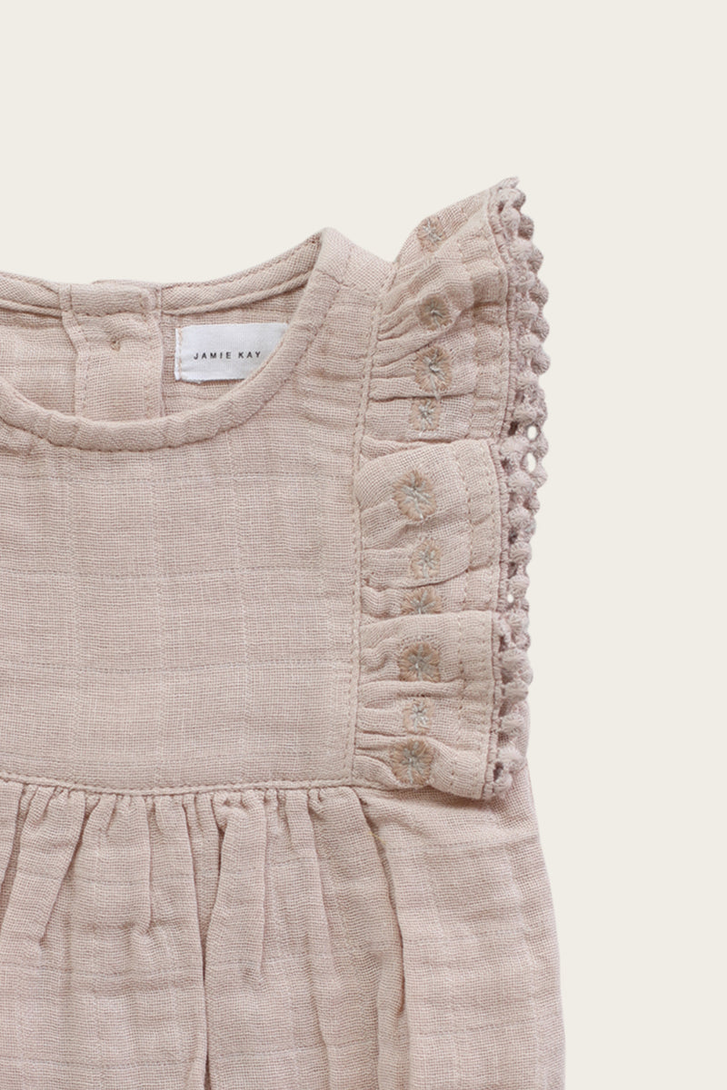 Stella Playsuit - Rose Dust