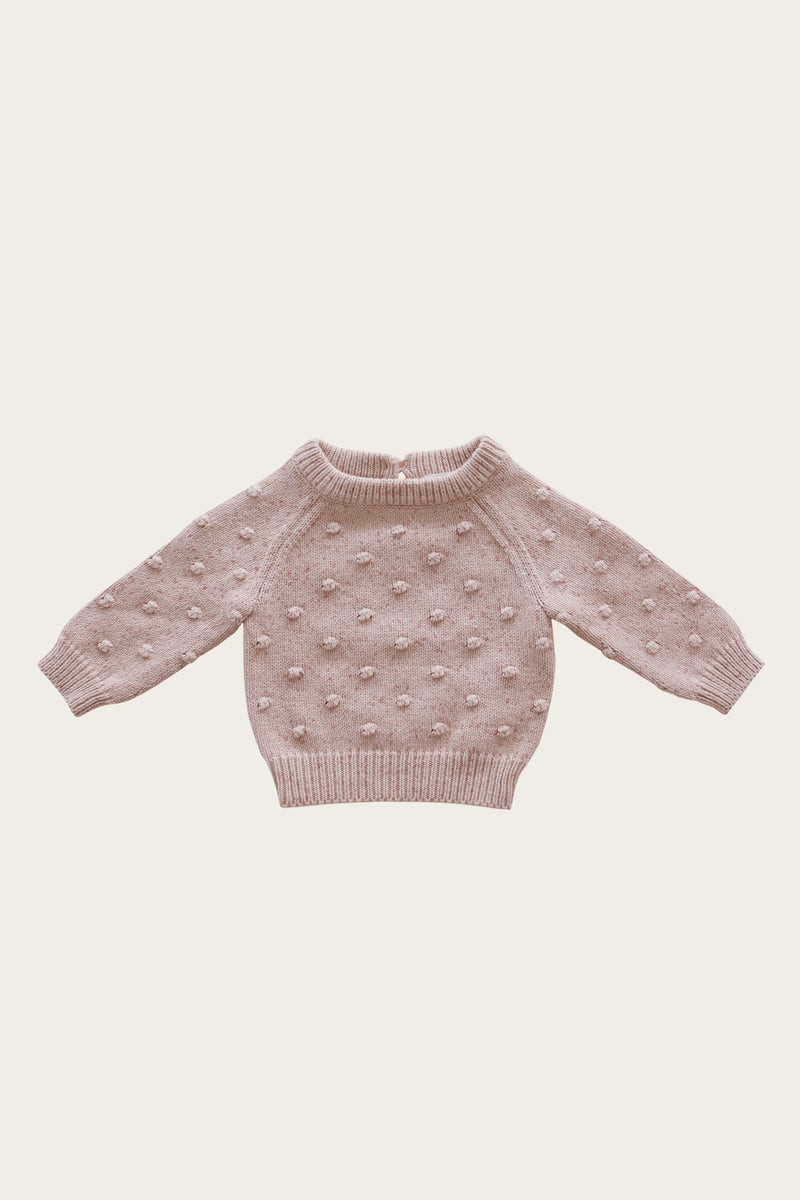 Dotty Knit - Bubblegum
