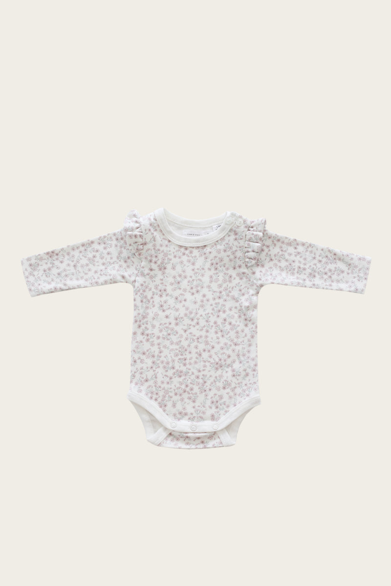 Frill Bodysuit - Posy Floral