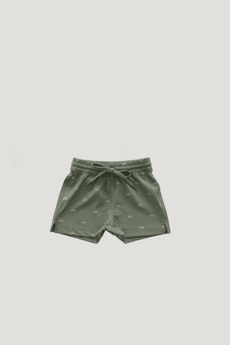Dragonfly Swim Trunk - Seagrass