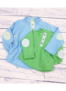Youth Miller Pullover Blue/Green