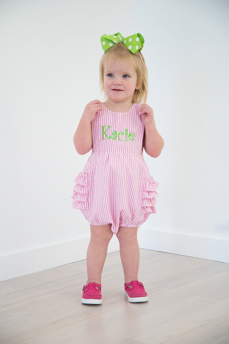 Girls Ruffle Sunsuit