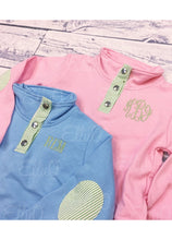 Load image into Gallery viewer, Youth Miller Pullover Pink/Green