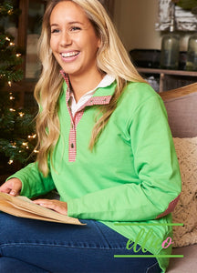 Miller Pullover Green/Red Gingham