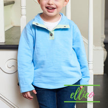 Load image into Gallery viewer, Youth Miller Pullover Blue/Green