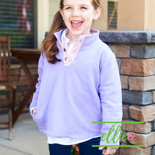 Youth Miller Pullover Lavender/Pink (3/4, 5/6 and 7/8 ONLY)