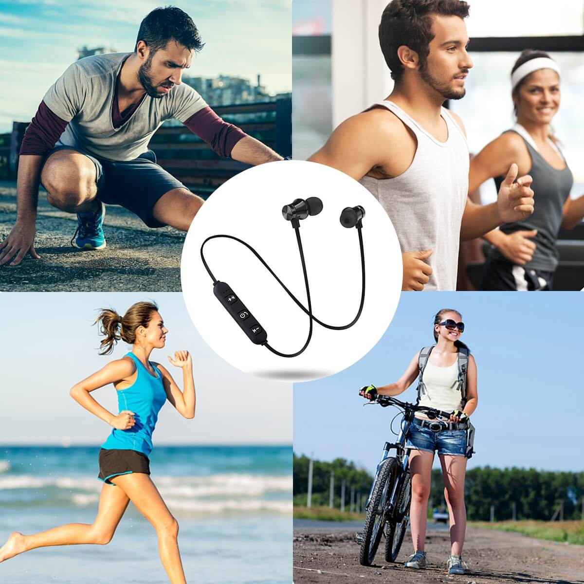 14 HTB1p3hHaOrxK1RkHFCcq6AQCVXaY - NEW! Magnetic Wireless Bluetooth Hands Free Headset