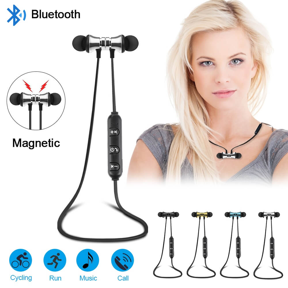 15 HTB1u74SaTHuK1RkSndVq6xVwpXa4 - NEW! Magnetic Wireless Bluetooth Hands Free Headset