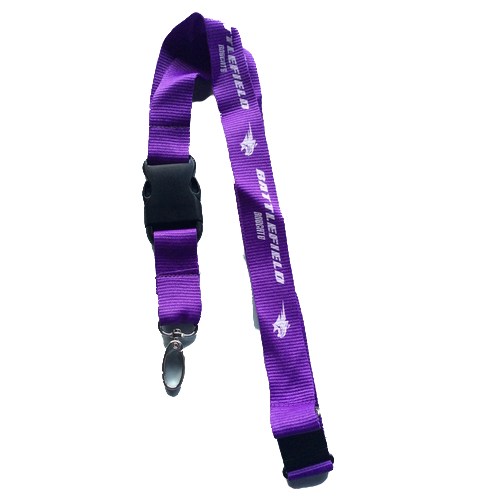 305-Purple Lanyard