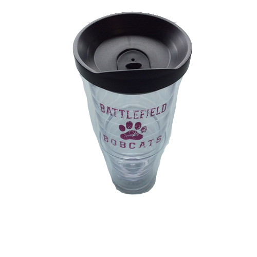 306-Tervis bobcat cup with straw