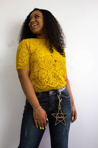 Yellow Finesse Top