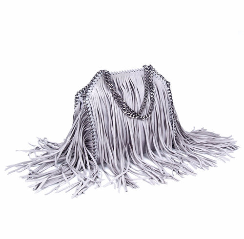 Gray fringe chain