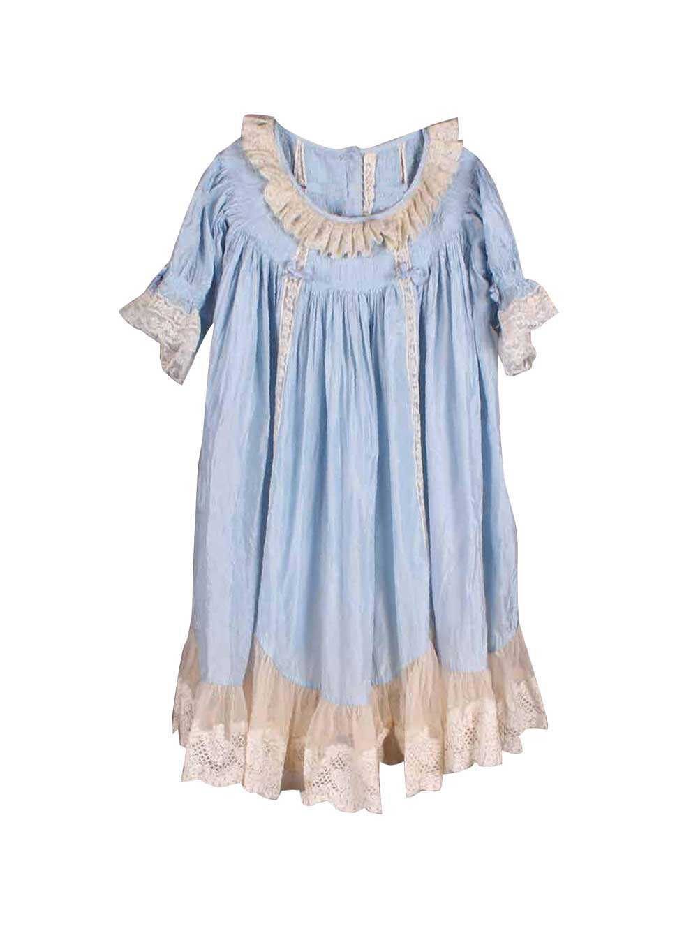 Blue Baby Doll Dress