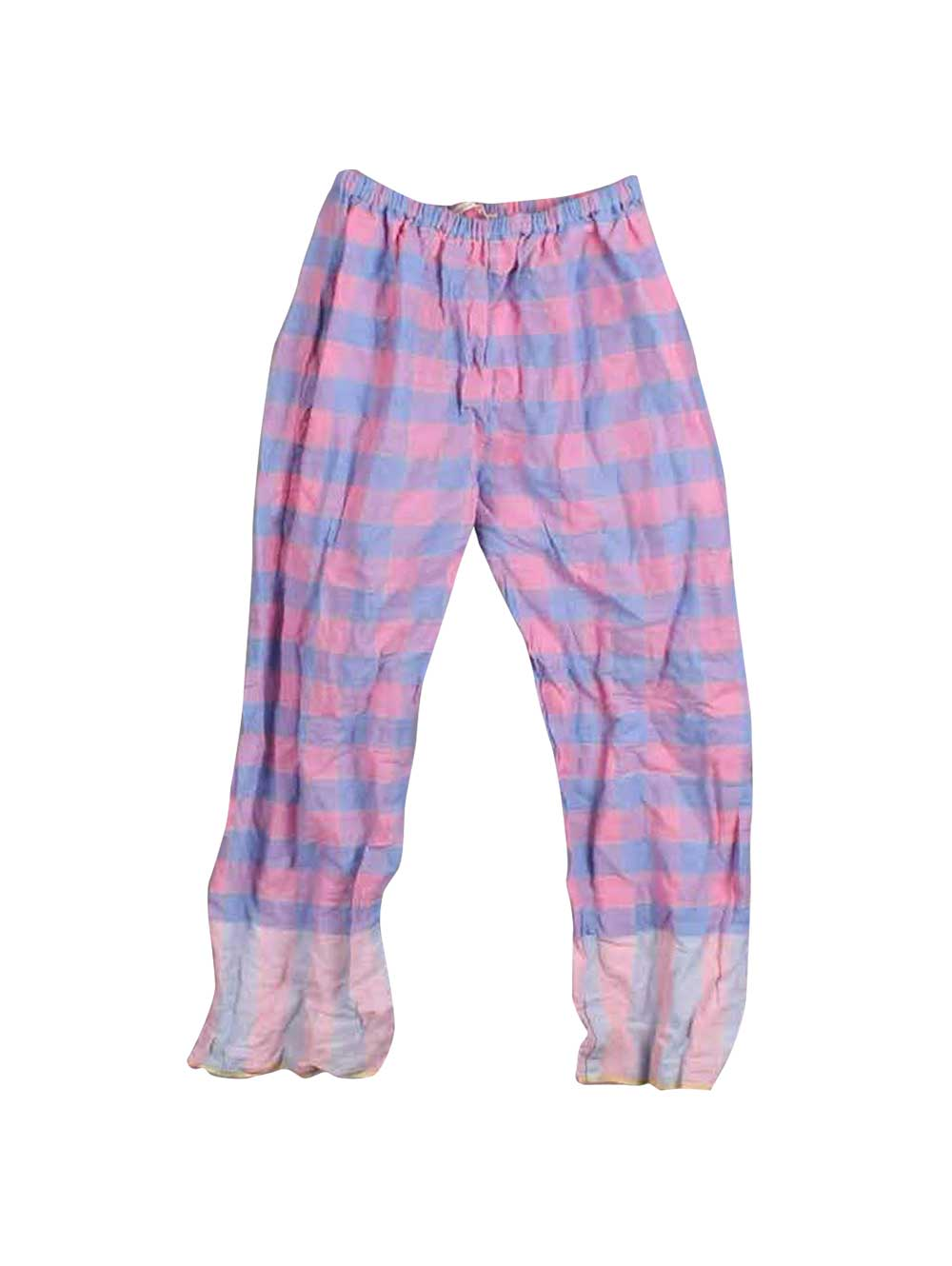 Purple and Pink Checked Trousers