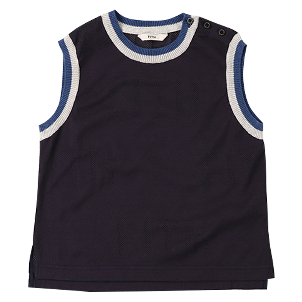 Navy Fith Tank Top