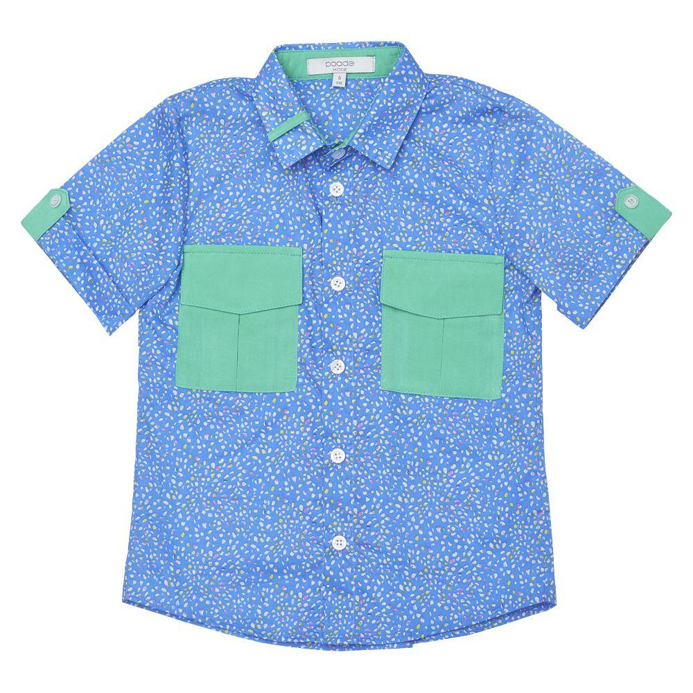 Heather Light Blue Shirt