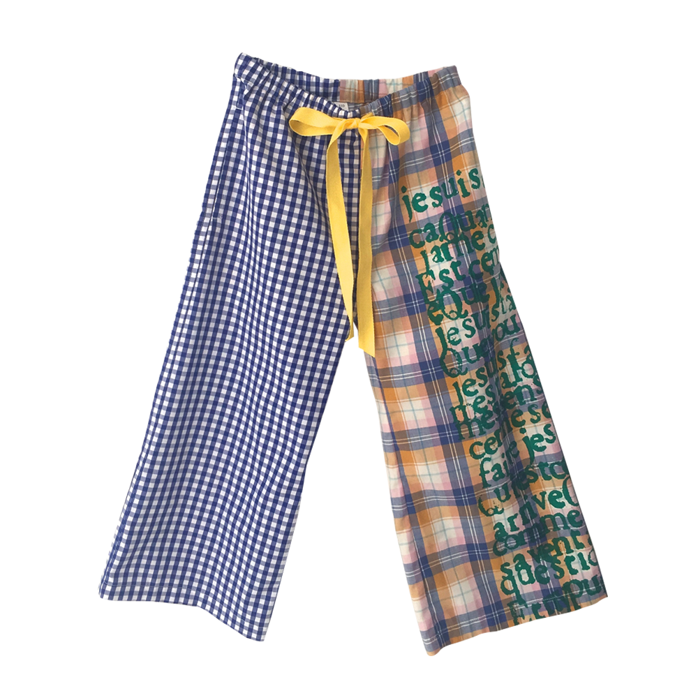 Multichecked Trousers