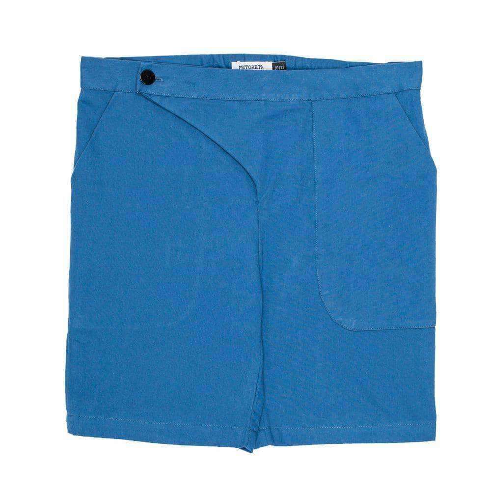 Blue Pocket Shorts