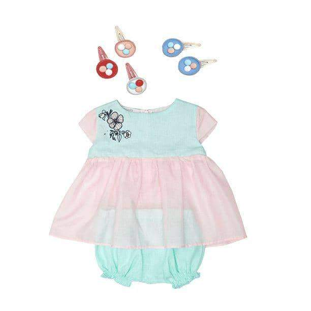 Baby Mint Queen Dress