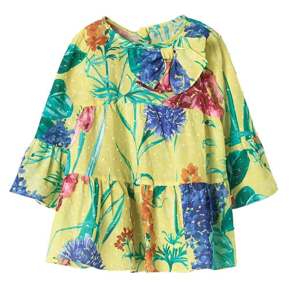 Floral Tropical Blouse