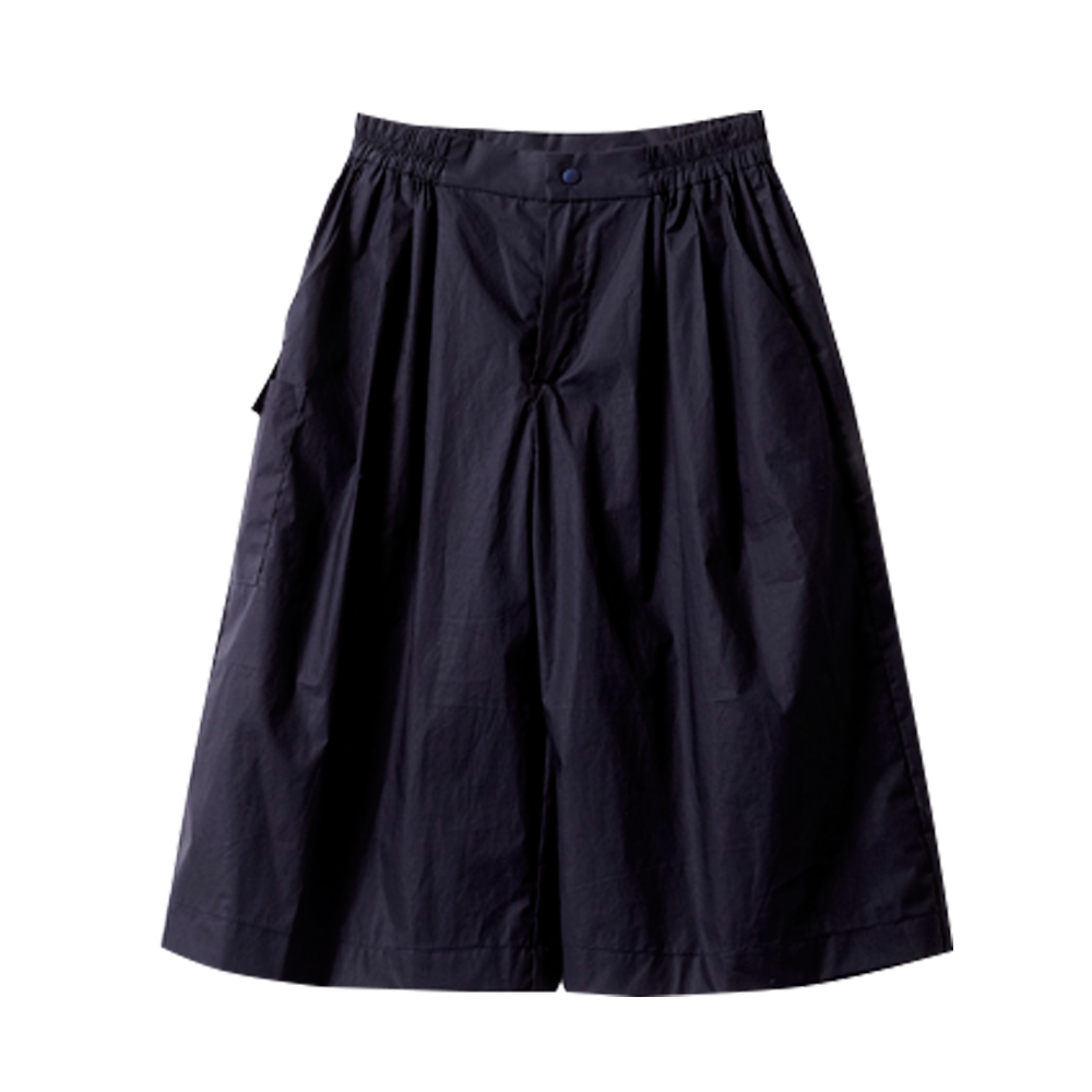 Navy Wide Culottes