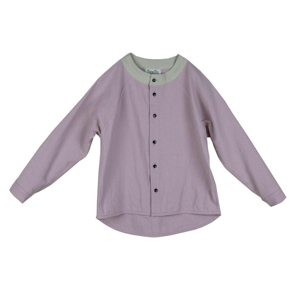Pink Raglan-Sleeved Shirt