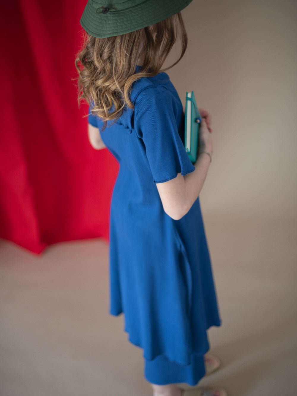 Blue Sailor Tunic Dress