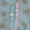 Pink Dragee Strap Watch