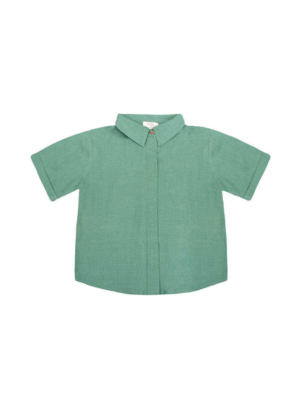Green Cotton Shirt