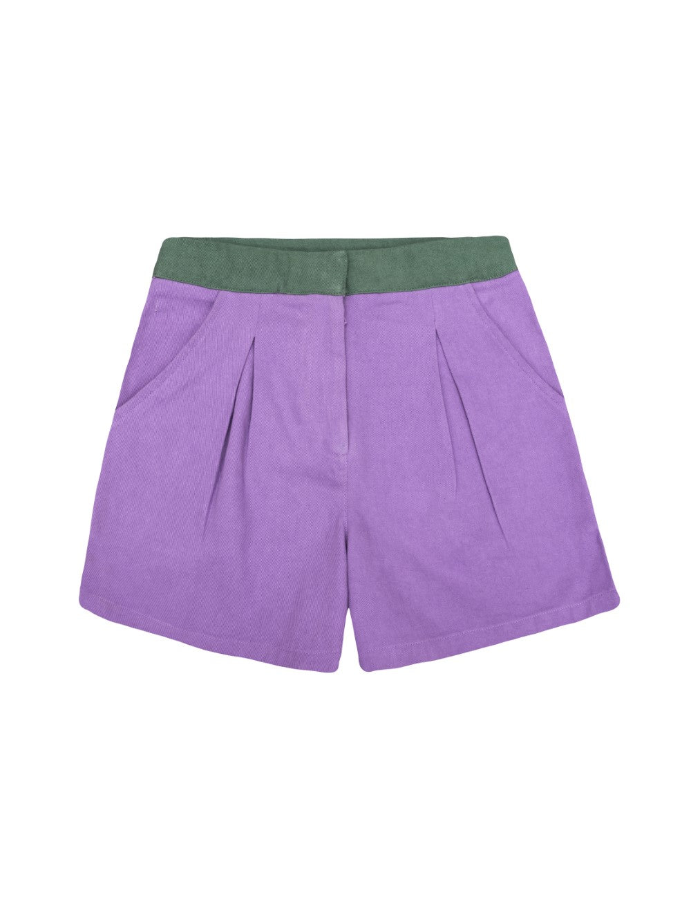 Green and Purple Shorts
