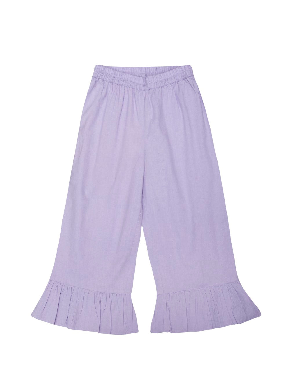 Lavendar Ruffled Pants