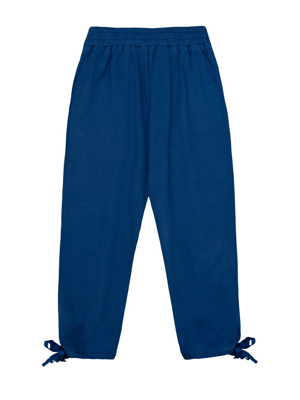 Blue French Terry Trousers