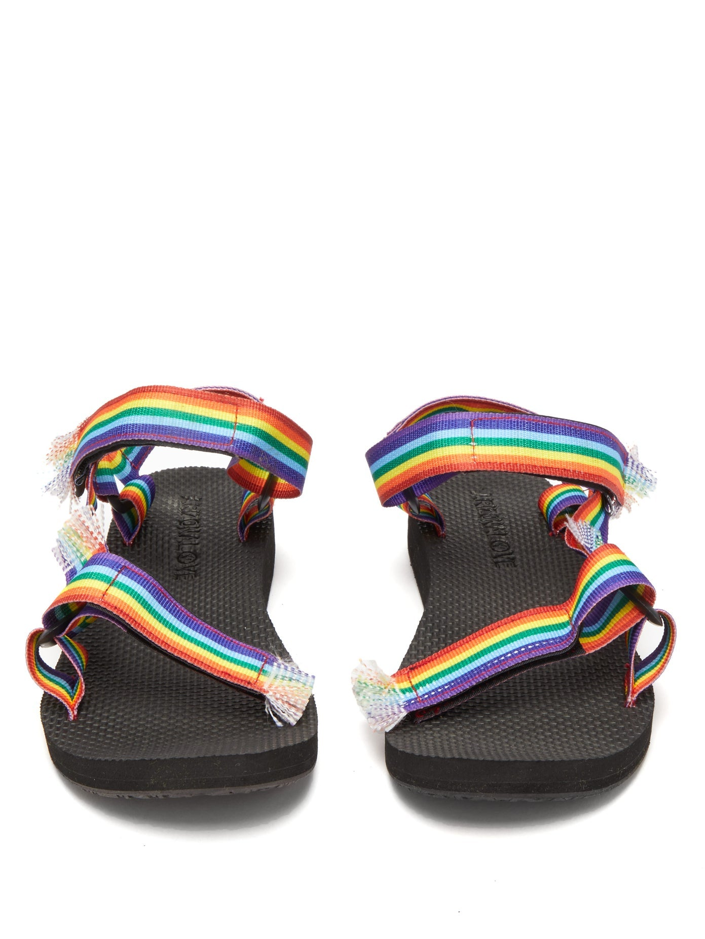 Rainbow Kids Bandana Sandals