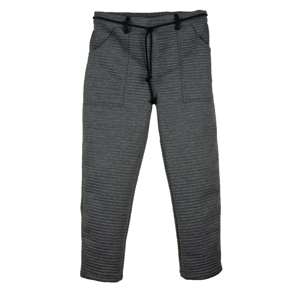 Grey Knitted Jogging Pants