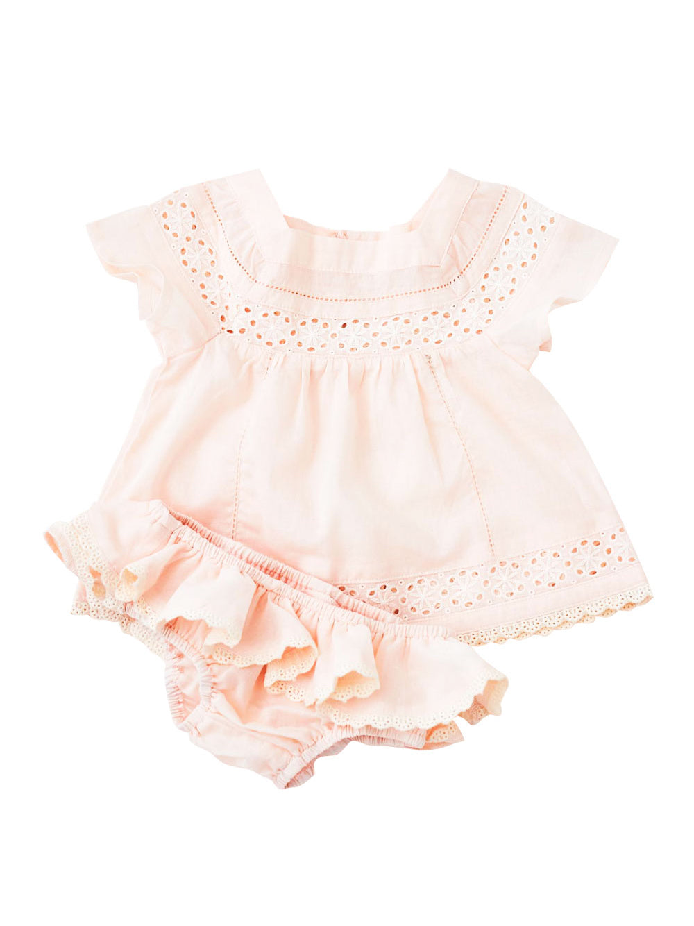 Bebe Daisy Blouse and Bloomers