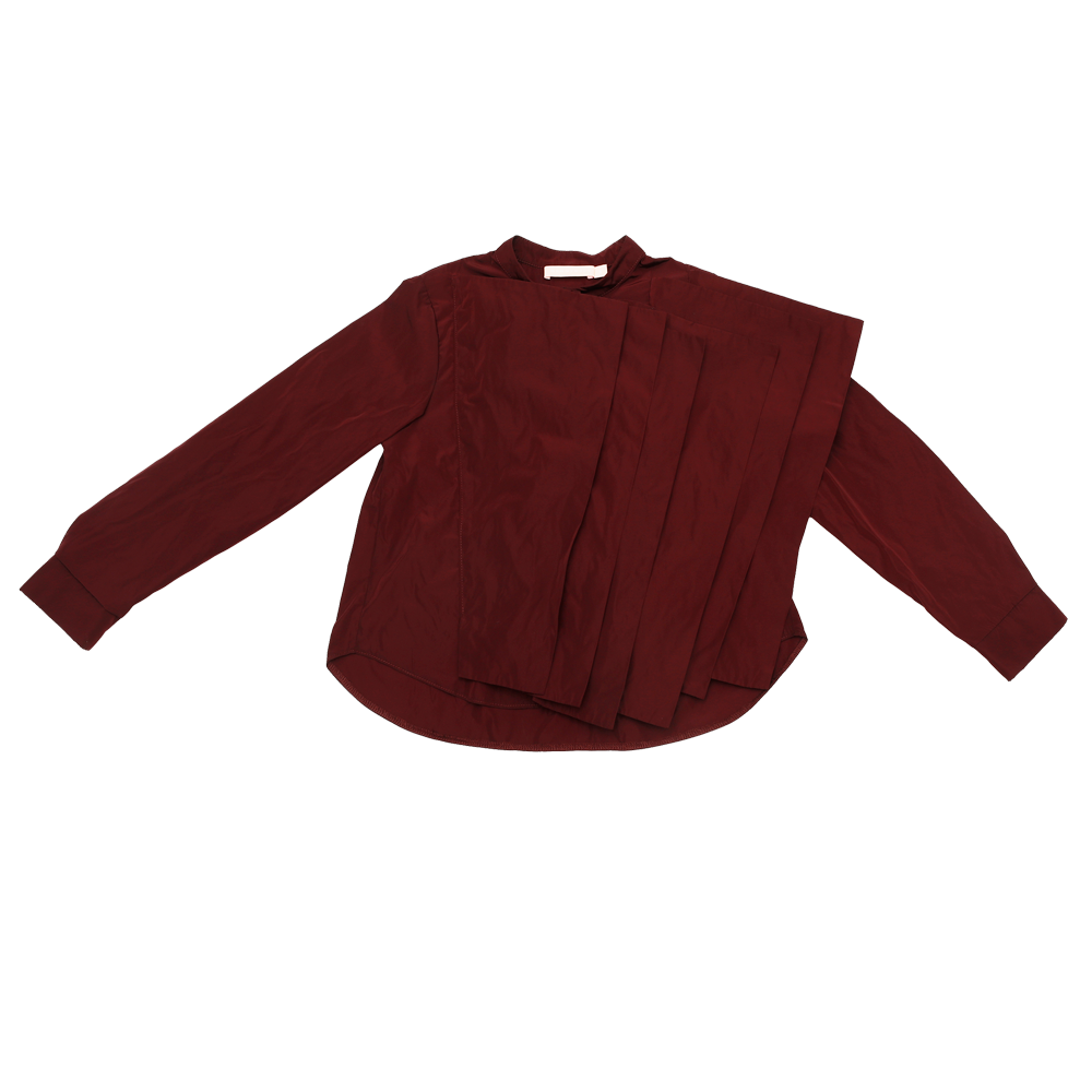 Burgundy Sophia Shirt