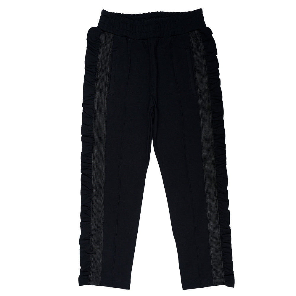 Ruffle Side Trousers