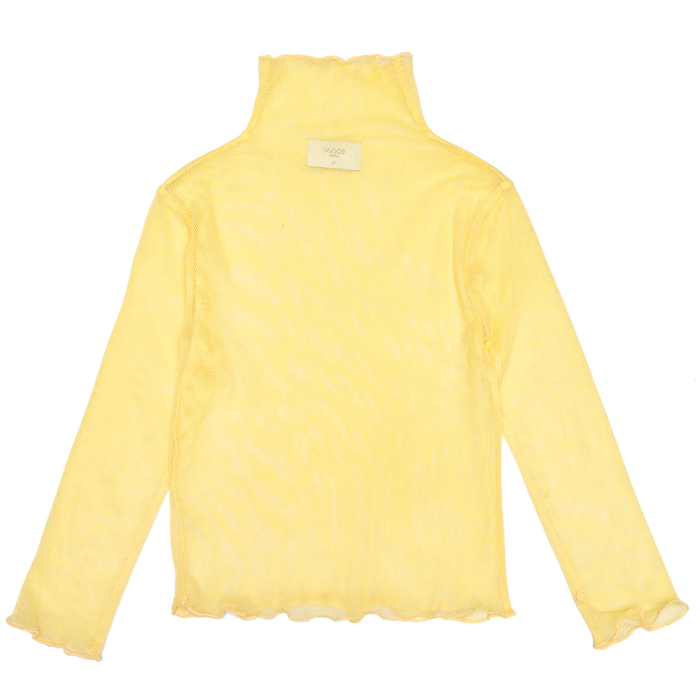 Yoko Yellow Turtleneck
