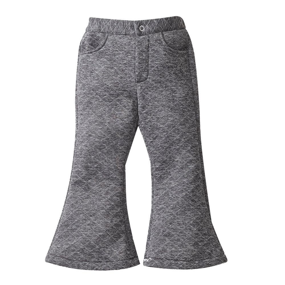 Grey Flaired Trousers
